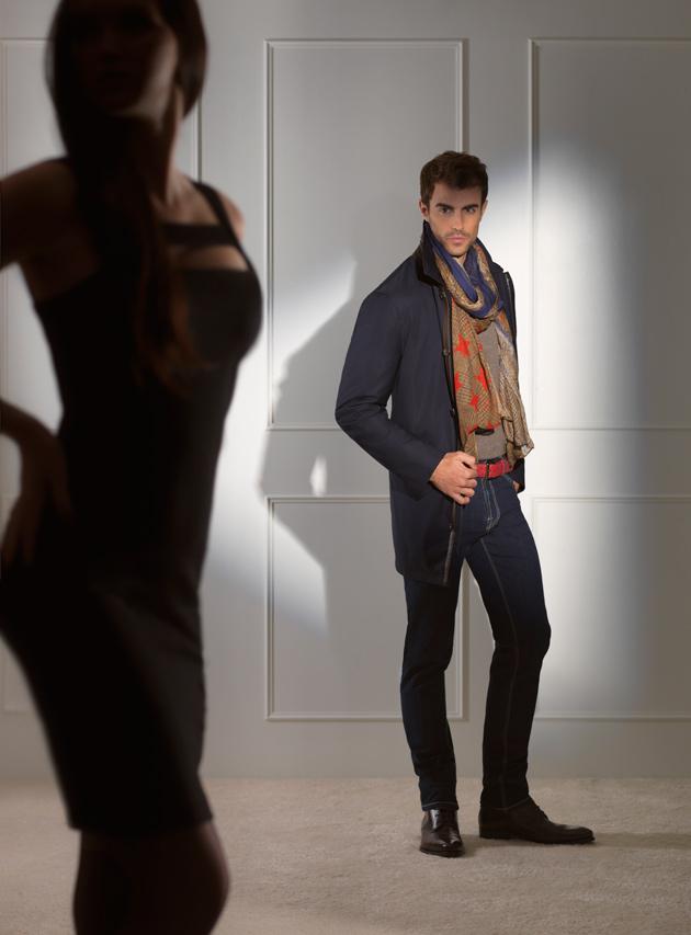 Jerold Partouche est le photographe mode des nouveaux visuelles Dormeuil prêt à porter pour homme.