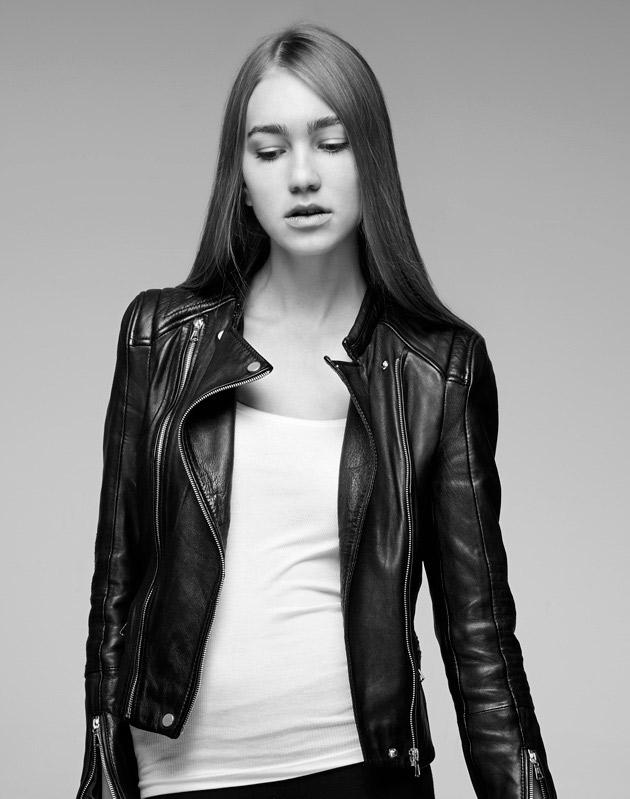 Jerold a photographié Martyna pour un test mannequin.